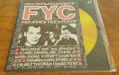 Fine Young Cannibals - Raw & The Cooked 1989 Laser Disc Pal German Print