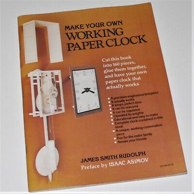 MAKE YOUR OWN WORKING PAPER CLOCK - JS Rudolph - Complete Card Timepiece plans