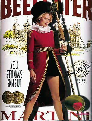 Print Ad~2001~Beefeater~Gin~Martini~Guard~Advertisement~G900