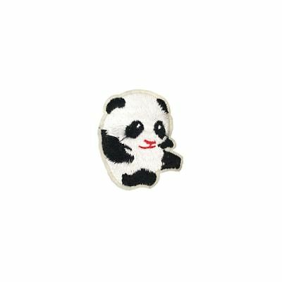 Baby Panda (Iron On) Embroidery Applique Patch Sew Iron Badge