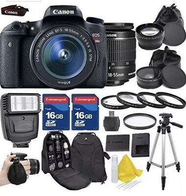 Canon EOS Rebel T6s Camera Bundle / package