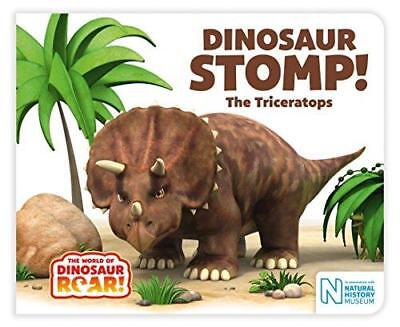 Dinosaur Stomp! The Triceratops by Jeanne Willis (Board book, 2017)