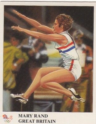 Great Britain Athletics. Mary Rand