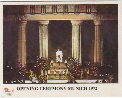 Germany 1972. Munich Olympic Stadium card