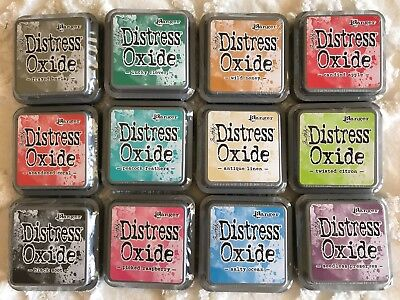 Tim Holtz Distress Oxides 12 pack Series 2 Unopened Stamp Pads