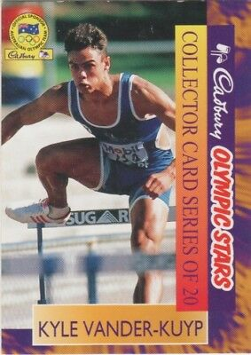 Australian Athletics Card - Kyle Vander-Kuyp