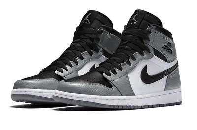 d2039c80c93 NIKE AIR JORDAN RETRO 1 HIGH Sz 13 DS Rare Air Cool Grey Black White 332550
