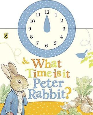 WHAT TIME Is It, Peter Rabbit? by Beatrix Potter 9780723265382 ...
