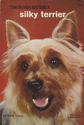 Silky Terrier Vintage Book How To Raise
