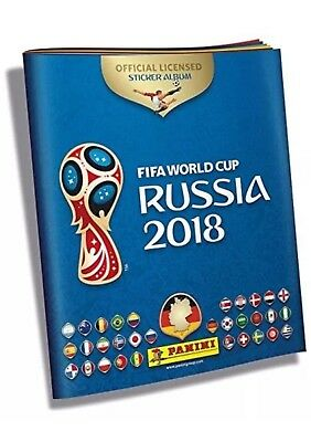 Panini 2018 FIFA World Cup Sticker Collection New Blank Album