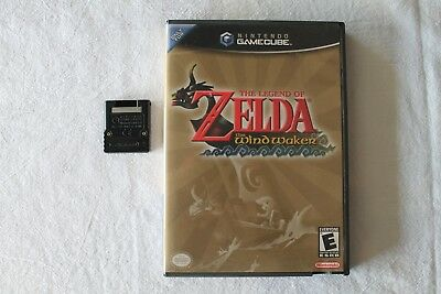 Legend of Zelda: The Wind Waker NEAR MINT  (Nintendo GameCube, 2003) COMPLETE