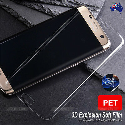 Premium Soft Screen Protector Thermoplastic Film for Samsung Galaxy S10 S9 S8 S7