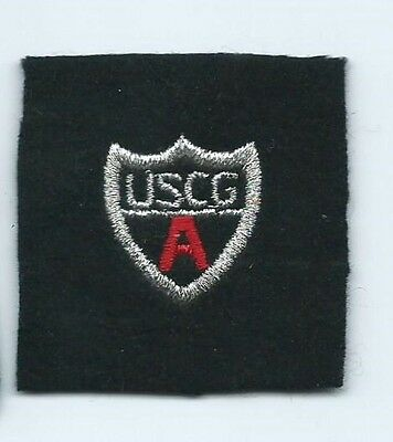 USCG United States Coast Guard Auxiliary appointed staff officer patch 2X2 #1747