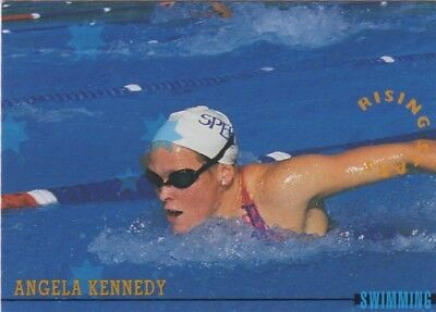 Australian Olympic Card. Swimming - Angela Kennedy