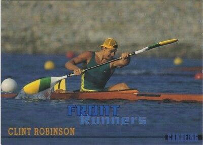 Australian Olympic Card. Kayaking - Clint Robinson