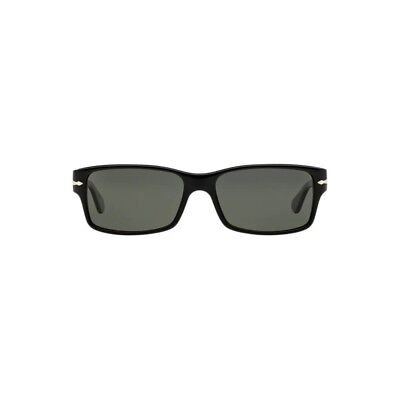 fb4eb304fb7 Persol Sunglasses PO2803S 95 58 Black Crystal Green Polarized משקפי שמש  פרסול