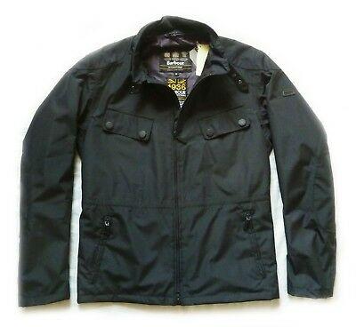 Superb Barbour International Summer  Biker Style Jacket  - Med - Bnwt £219