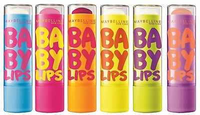 Maybelline Baby Lips Lip Balm 8hr Moisture - Choose Your Flavour