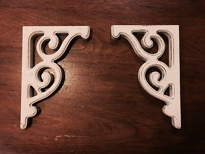 RUSTIC CORBELS / BRACKETS (BOOKEND SIZE) sold as a pair