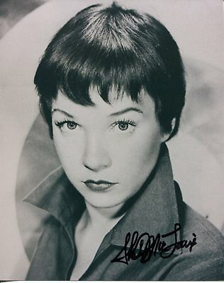 Shirley MacLaine Terms of Endearment Steel Magnolias Rare Signed Autograph Photo