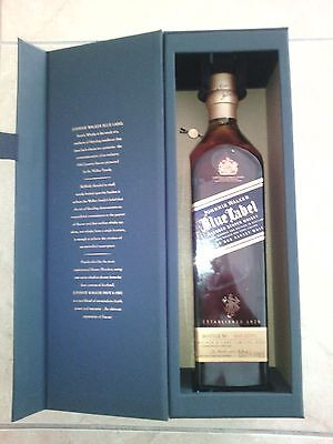 New Johnny Walker Blue Empty Bottle with the Box 750ML/75CL