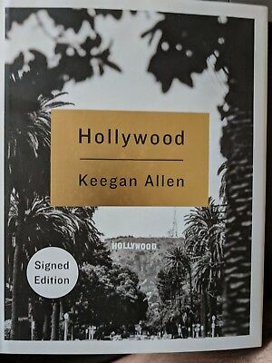 SIGNED Hollywood by Keegan Allen, autographed, new