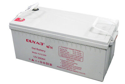 Batterie GEL 12V 200Ah