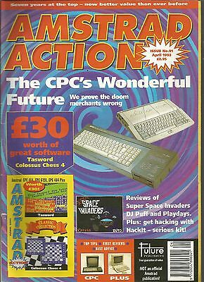 Amstrad Action - Issue 91 - April 1993 - Magazine