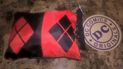 Harley Quinn Packable Tote  - NEW with Tags - DC Comics  - Batman Suicide Squad