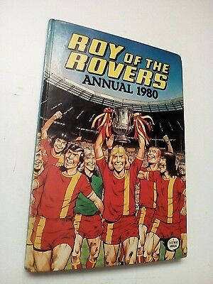 Vintage Annual Roy of the Rovers 1980