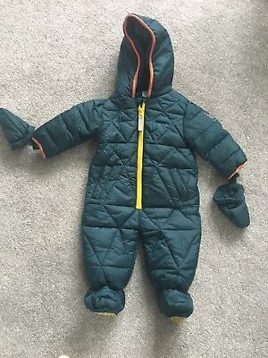 1072e8100137 TED BAKER BABY boys pram suit   snow suit... 3-6 months new without ...