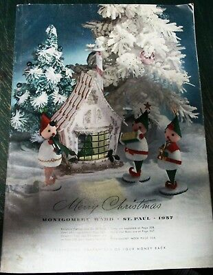 1957 montgomery ward christmas catalog 340 pages all fully intact ships free
