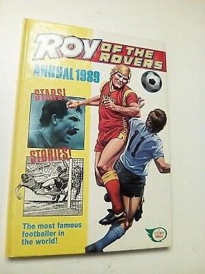 Roy of the Rovers Annual 1989  MINT