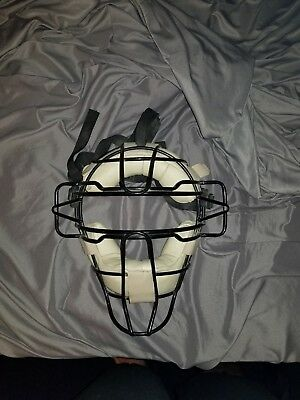 Honig's Adult Baseball Umpire doeskin face mask guard softball refereree gear