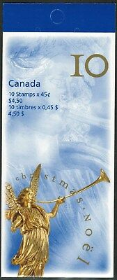 Canada Sc#1764a Angels: Angel of the Last Judgement, Booklet Bk211a, Mint-NH