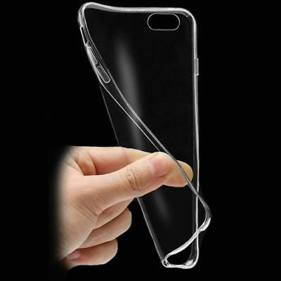 NEW ULTRA THIN SLIM TRANSPARENT TPU SILICONE GEL CASE COVER FOR Apple iPhone 6