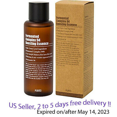 PURITO Fermented Complex 94 Boosting Essence 150ml + Free Gift Sample !!