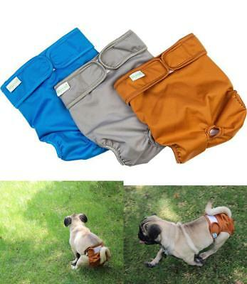 3 Pack Reusable Washable Dog Diapers Super Absorbent Waterproof Female Medium