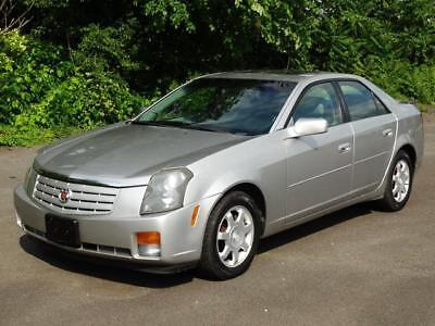 2003 Cadillac CTS 5-SPEED SUPER RARE! 2ND-OWNER! 60K Mls! LOW MILES SUNROOF LEATHER COLD AC CASSETTE/CD-PLAYER ONSTAR RUNS DRIVES GREAT