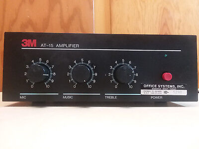 3M Commercial Amplifier At - 15