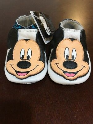 ADIDAS DISNEY LILADI Mickey Mouse Crib Shoes New Size 1 Baby