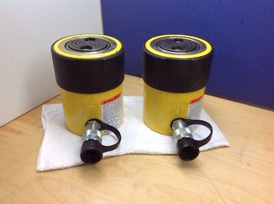 ENERPAC RC-502 NEW! Hydraulic Cylinder,50 tons,2in. Stroke DUO Series