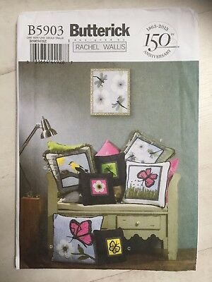SIMPLICITY SEWING Pattern K2160 Pillows/Cushions 4 Types Applique ...