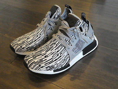611ce91da3fae Adidas NMD XR1 PK Boost Primeknit shoes men sneakers new BY1910 oreo black  white