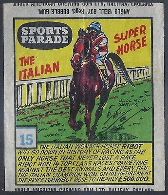 Anglo-Sports Parade-#15- Horse Racing - Ribot