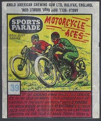 Anglo-Sports Parade-#39- Motor Cycle Racing - Woods