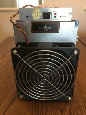 Bitmain Antminer L3+ 504 MH/s Litecoin / Doge Miner In Hand and Ready to Ship