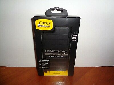 Genuine Authentic Black OtterBox Defender Case & Holster for iPhone 6 / 6s OEM