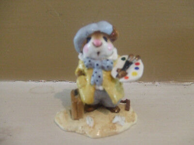 Wee Forest Folk 1992 A.p. M71 Art Mouse Pre Owned Mint