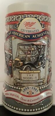 Miller Beer Stein 1987 Number 2 in Set